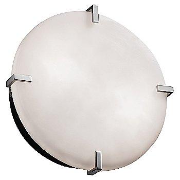 Polished Chrome finish / Opal shade / Small size