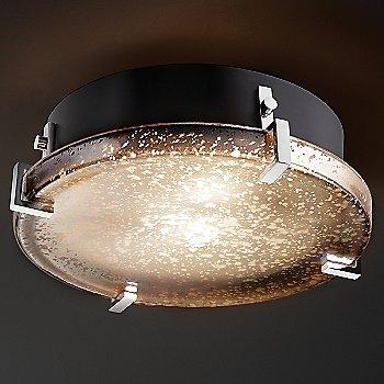 Polished Chrome finish / Mercury shade / Small size