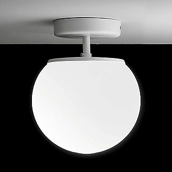 White finish, Small size, illuminated