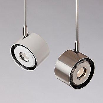 White / Satin Nickel finish / illuminated