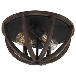 Allier FM400 Flush Mount Ceiling Light