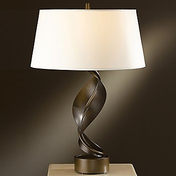 Shown in Bronze finish, Natural Anna shade