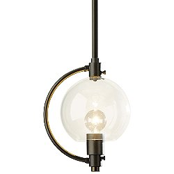 Pluto 1 Light Pendant Light