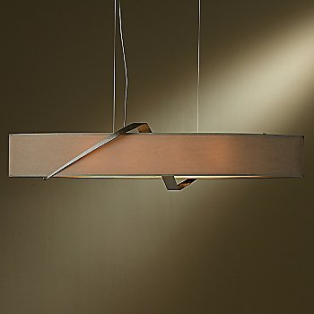 Shown in Bronze finish, Eclipse Micro-Suede shade