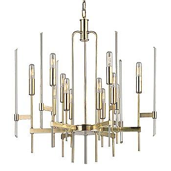 Aged Brass finish / 12 Light option