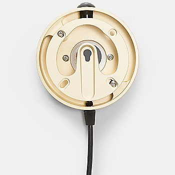 Monocle Switch Wall Adapter with cord, Gold finish (sold separately)