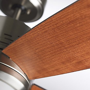 Shown in Brushed Steel with Natural Cherry blades