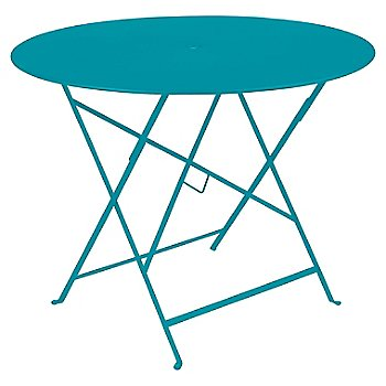 Turquoise Flat Satin / 38 Inch