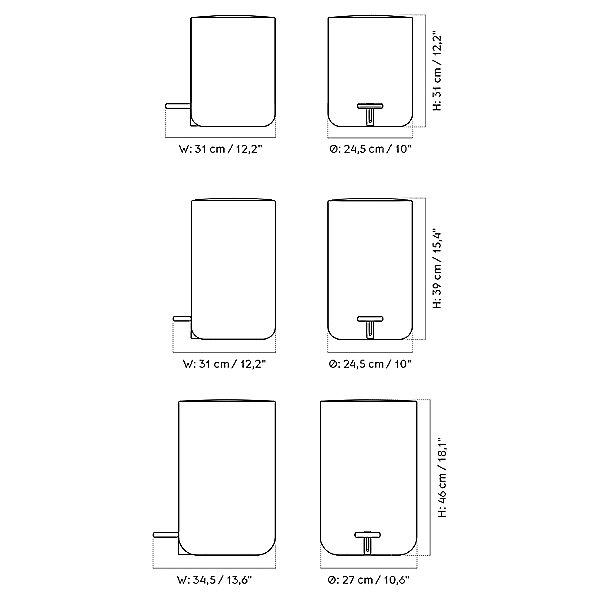 Bath Pedal Bin