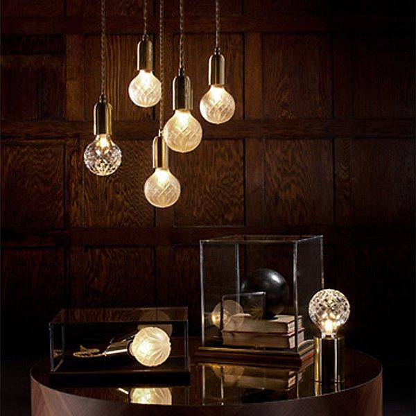 Crystal Bulb LED Mini Pendant Light