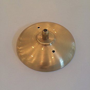 Brushed Brass ceiling canopy
