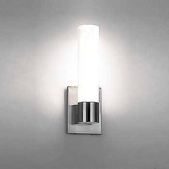 Chrome finish, illuminated