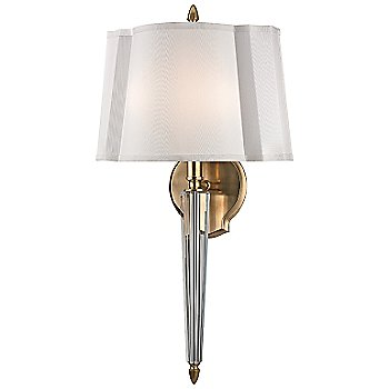 Shown in Aged Brass with Crystal Accents finish