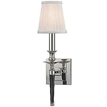 Shown in Polished Nickel with Black Lacquer Handle finish