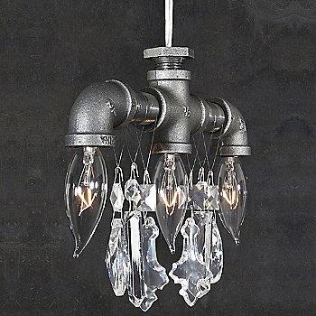 Tribeca 3-Light Pendant, in use