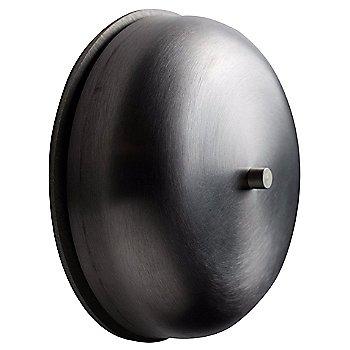 Waxed Brushed Steel finish