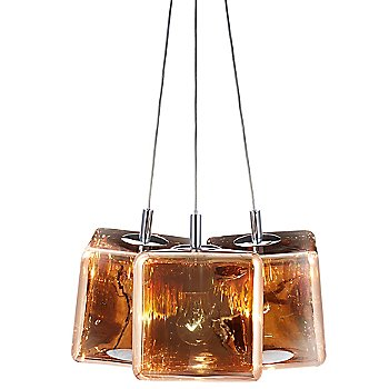 Shown in Copper, 3-Light Option