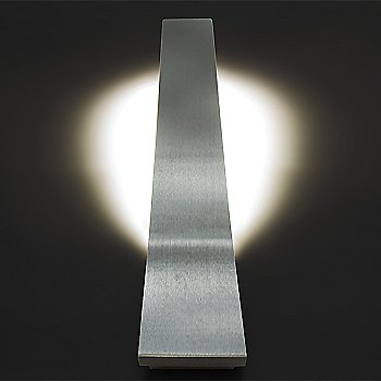 Brushed Aluminum finish / 22-Inch size, illuminated