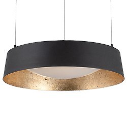 Gilt 18 Inch Pendant Light
