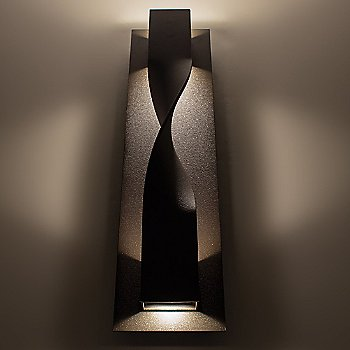 Bronze finish, illuminated