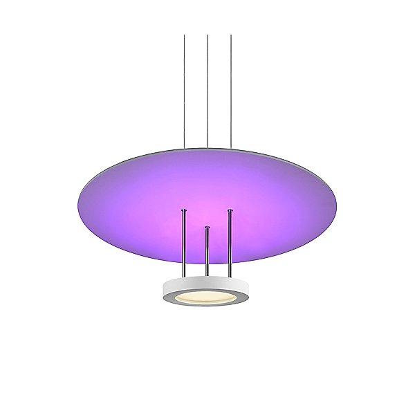 Chromaglo Spectrum Round Reflector LED Pendant Light
