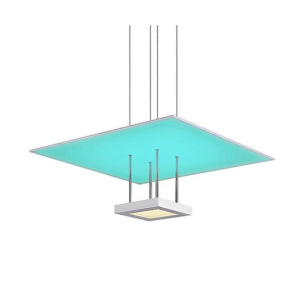Chromaglo Spectrum Square Reflector LED Pendant Light