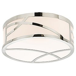 Haiku Round LED Flush Mount