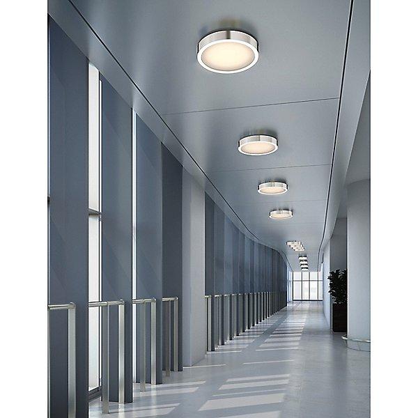 Puck Slim LED Flush Mount Ceiling Light