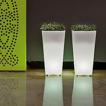 Aix Squara LED Planter collection