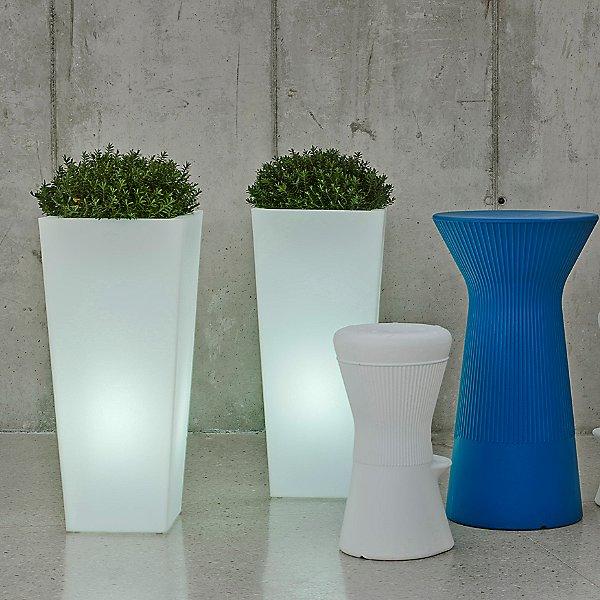 Aix Squara LED Planter