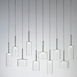 Spillray 10 Light Linear Pendant Light