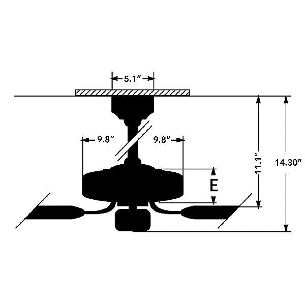 Loris 52 Inch Ceiling Fan