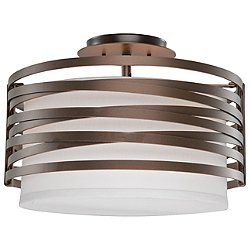 Tempest Semi-Flush Mount Ceiling Light