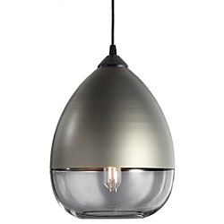 Parallel Teardrop Pendant Light