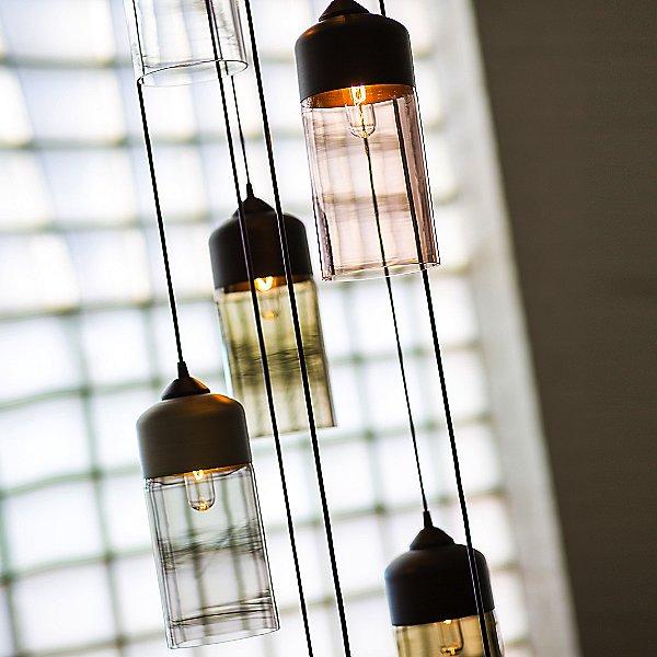 Parallel Cylinder Pendant Light