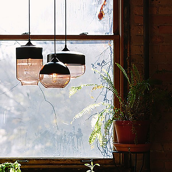 Parallel Canister Pendant Light