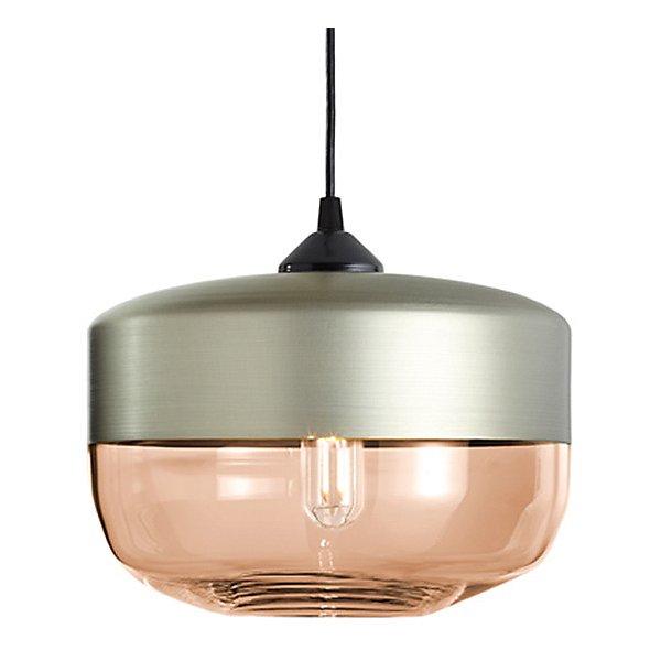 Parallel Wide Cylinder Pendant Light