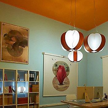 Carambola Pendant, in use